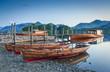 Boats, Lake District, Cumbria, UK