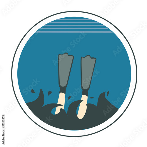 icon of diving