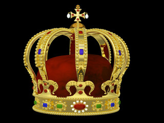 Royal Crown with Jewels