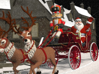 Santa's Carriage