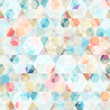 cell diamond seamless pattern - 55344963