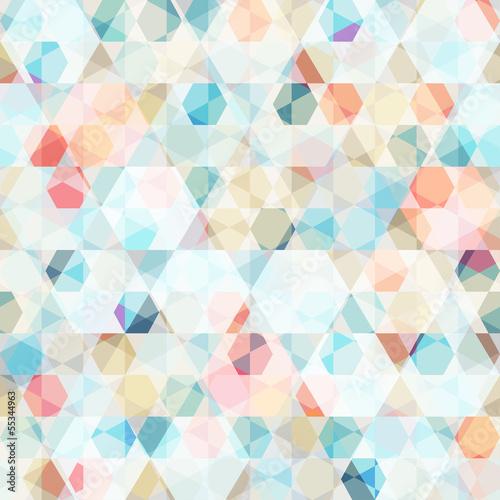 Tapeta cell diamond seamless pattern