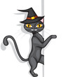 Halloweens cat peeps