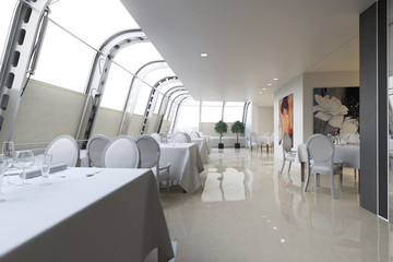 Penthouse Restaurant Design