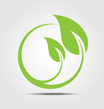 Ecology business icon