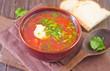 fresh beet soup