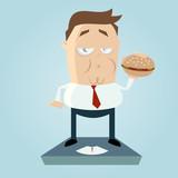 übergewicht fast food