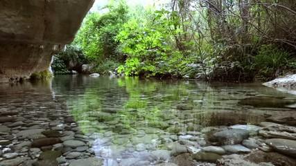 sicily, anapo river, bioreserve