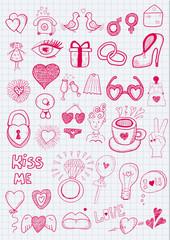 Girl objects