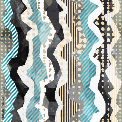 Obraz na Plexi fabric seamless pattern