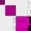 Carte Bonne Année 2014 Mauve