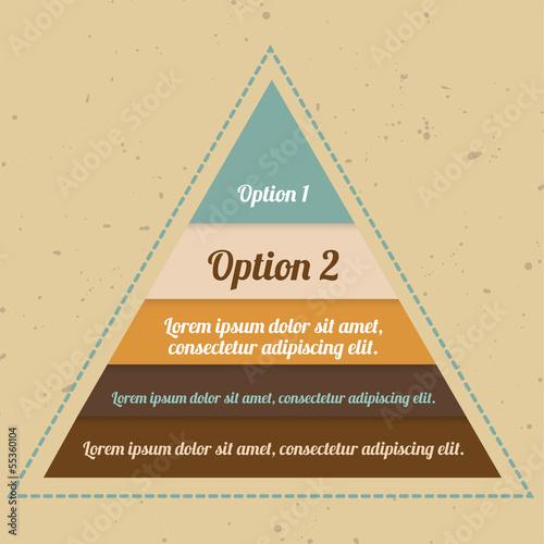 Infographic Pyramid