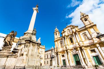 Church of Saint Dominic, Palermo, Italy.