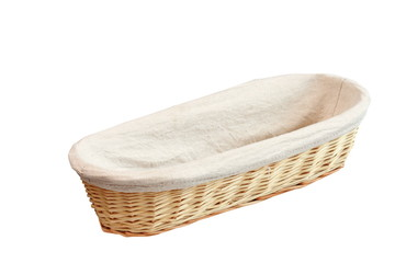 wood basket for bread