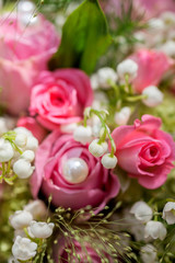 Brautstrauss mit Maiglöckchen