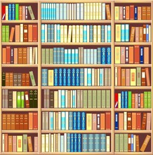 Bibliothèque pleine de livres