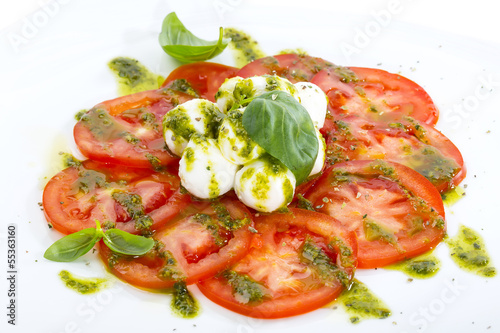 tomatoes with cheese
