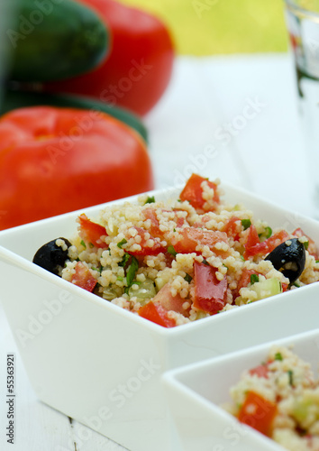 Salad Tabbouleh with couscous