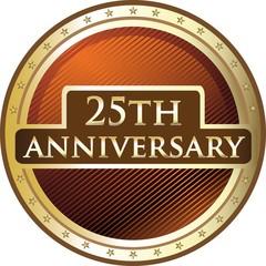 Twenty Fifth Anniversary Star Shield
