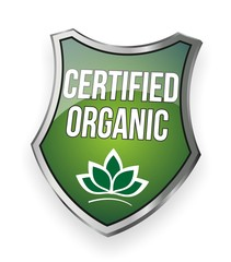 Certified Organic - Sign