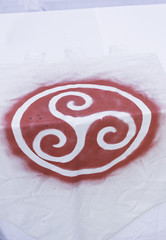 Red Symbol Celtic