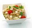Salades de pâtes tomates mozzarella