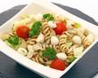Salade composée mozzerella