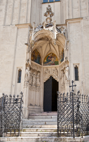 Entrance of Mary at the Shore church (1414). Vienna, Austria