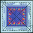 RUSSIA - 2013: shows the Pavlovsky Posad kerchief