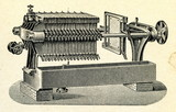 Plate-and-Frame Filter press (ca. 1920)