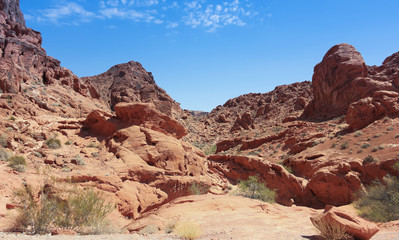 A Valley of Fire State Park View