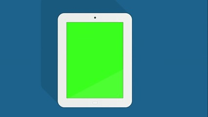 Green screen tablet