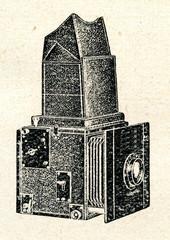 Single-lens reflex camera (ca. 1920)