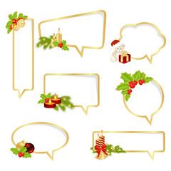 Christmas bubbles speech