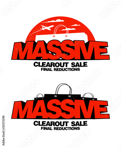 Massive sale design templates.