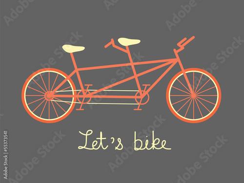 tandem bike © FJstudio