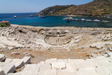 Amphitheatre of Knidos, Datca, Turkey