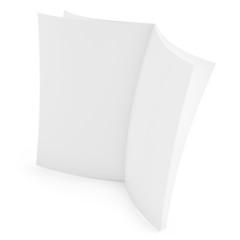 3d blank newspaper
