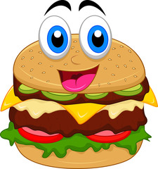 burger cartoon characters