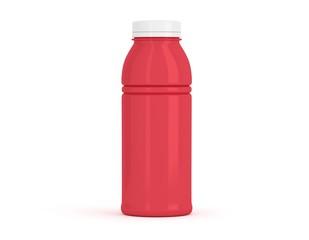 Flasche mittel rot