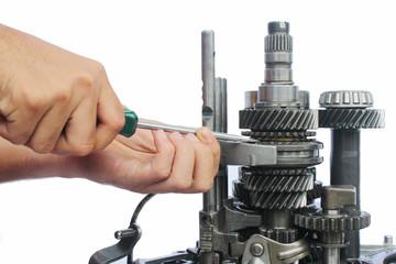 gearbox service work
