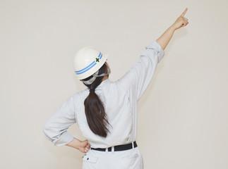 作業員の女性
