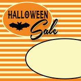 Retro Halloween Sale