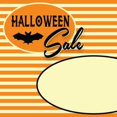 Retro Halloween Sale