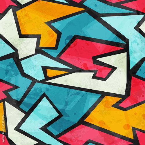 Fototapeten,nahtlos,graffiti,mustern,vektor