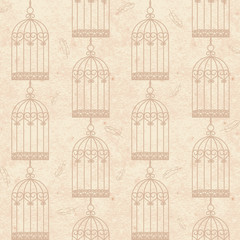 birdcages and feathers