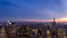 Fototapete - New York skyline