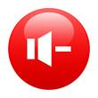 bouton internet son musique minus red