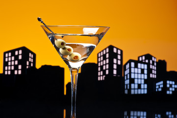 Metropolis Vodka Martini