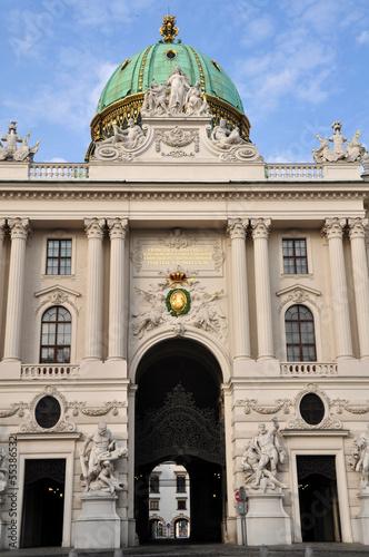 Hofburg in Wien, Österreich